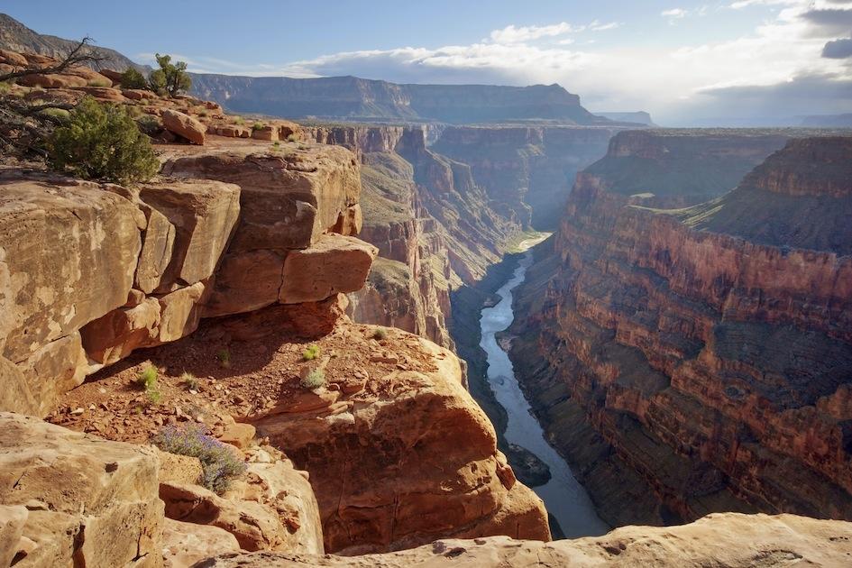 Grand Canyon - kør-selv-ferie. 21 dage gennem Vestlige USA. Se wiseonlife.dk