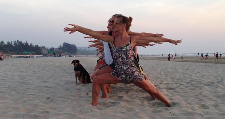 Yogaretreat Goa, Indien, se wiseonlife.dk