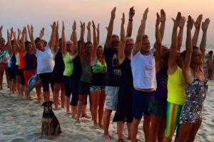 Yogaretreat Goa, Indien, Iyengaryoga, se wiseonlife.dk